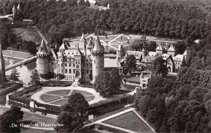 Ansichtkaart Haarzuilens Kasteel de Haar KLM Luchtfoto no. 2540 1958 Vleuten de Meern HC23026