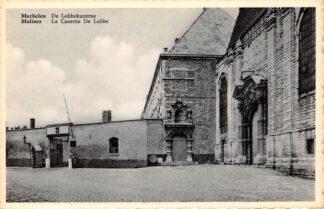 Ansichtkaart België Mechelen De Lobbe kazerne Militair Europa HC23052