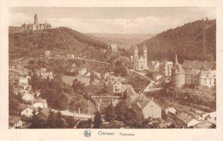 Ansichtkaart Luxemburg Clervaux Panorama 1920 Luxembourg Europa HC23057