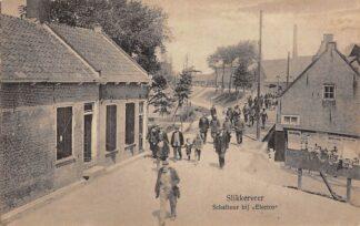 Ansichtkaart Slikkerveer Schaftuur bij Electro Ridderkerk HC23080
