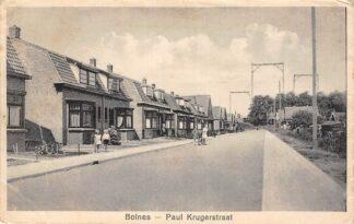 Ansichtkaart Bolnes Paul Krugerstraat Ridderkerk HC23091
