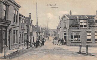Ansichtkaart Ridderkerk Lagendijk 1910 HC23093