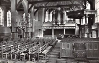 Ansichtkaart Broek in Waterland Ned. Hervormde Kerk Interieur met orgel 1967 HC23099