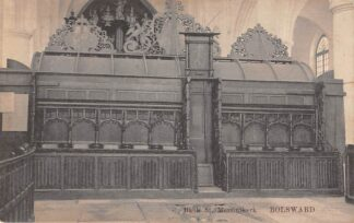 Ansichtkaart Bolsward Bank St. Martini kerk Orgel HC23110