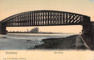 Ansichtkaart Culemborg Spoorbrug Spoorwegen HC23115