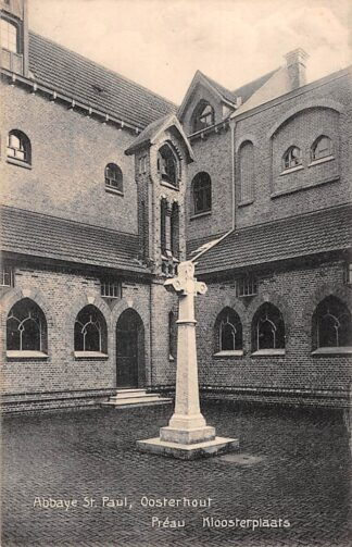 Ansichtkaart Oosterhout (NB) Klooster Abbaye St. Paul Kloosterplaats HC23126