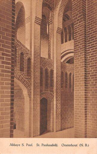 Ansichtkaart Oosterhout (NB) Klooster Abbaye St. Paulusabdij HC23132