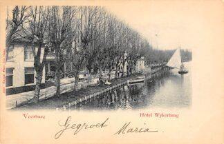 Ansichtkaart Voorburg Hotel Wykerbrug 1900 's-Gravenhage HC23141