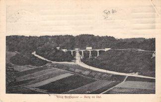 Ansichtkaart Berg en Dal Brug Bergspoor met tram 1919 Nijmegen HC23143