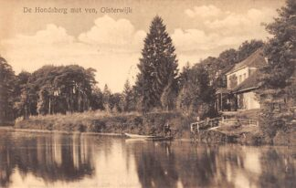 Ansichtkaart Oisterwijk De Hondsberg met ven 1918 HC23155