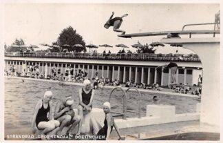 "Ansichtkaart Doetinchem Strandbad ""Groenendaal"" Zwembad 1939 Type fotokaart HC23160"