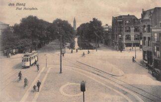 Ansichtkaart 's-Gravenhage Den Haag Piet Heinplein met HTM Tram HC23162