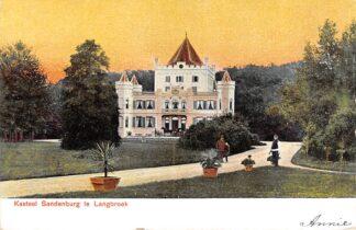 Ansichtkaart Langbroek Kasteel Sandenburg 1900 Wijk bij Duurstede HC23163