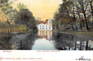 Ansichtkaart Warmond Huize Warmont achterzijde 1903 Teylingen HC23169