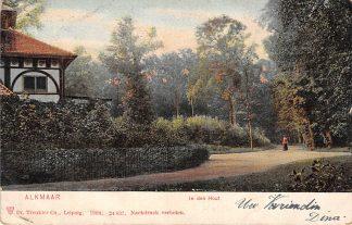 Ansichtkaart Alkmaar In den Hout 1904 HC23175