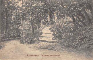 Ansichtkaart Wageningen Holleweg en Bergrand HC23183