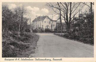 Ansichtkaart Doorwerth Kruispunt W.A. Scholtenlaan - Italiaanscheweg 1942 Renkum HC23185