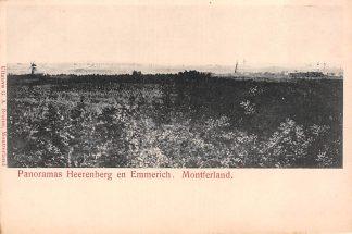 Ansichtkaart Panorama's 's-Heerenberg en Emmerich Montferland Duitsland Europa HC23189