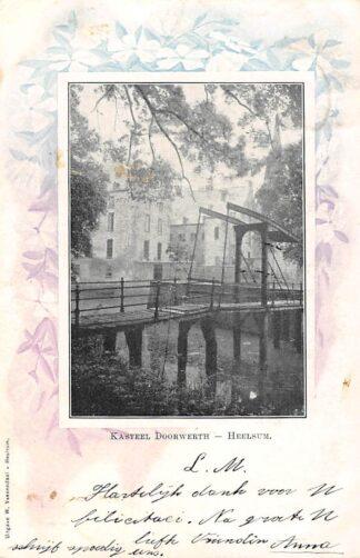 Ansichtkaart Heelsum Kasteel Doorwerth 1901 Renkum HC23198