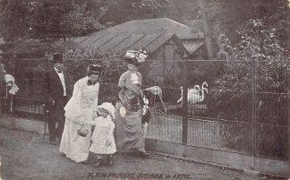 Ansichtkaart Amsterdam H.K.H. Prinses Juliana in Artis 1911 Koningshuis Zoo Dierentuin HC23221