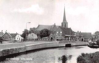 Ansichtkaart Zoeterwoude Schoutenbrug 1964 Kerk HC23225