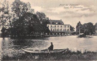Ansichtkaart Mook bij Nijmegen Hotel De Plasmolen 1923 HC23226