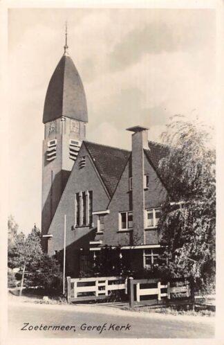Ansichtkaart Zoetermeer Gereformeerde Kerk HC23254