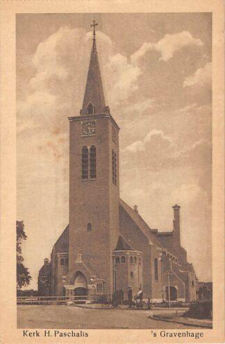 Ansichtkaart 's-Gravenhage Kerk H. Paschalis Wassenaarscheweg HC23258