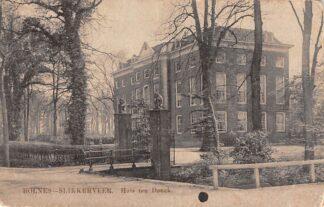 Ansichtkaart Bolnes Slikkerveer Huis ten Donck Ridderkerk 1914 HC23272