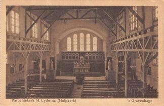 Ansichtkaart 's-Gravenhage Schenkkade Parochie kerk H. Lydwina Hulpkerk HC23299