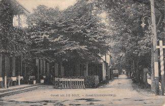 Ansichtkaart De Bilt Soestdijkerstraatweg 1913 Restaurant Reclame Garage K. Landeweer Utrecht HC23310