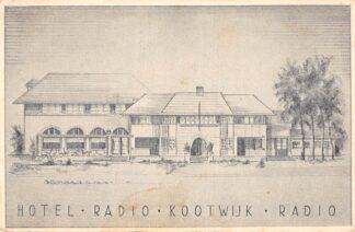 Ansichtkaart Reclame Hotel Radio Kootwijk Radio Post Apeldoorn HC23312