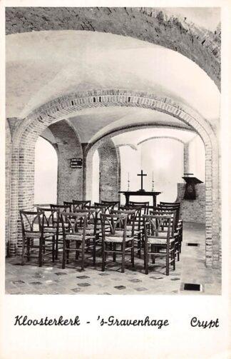 Ansichtkaart 's-Gravenhage Kloosterkerk Crypt Kerk HC23330