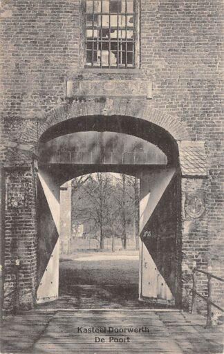 Ansichtkaart Heelsum Kasteel Doortwerth De Poort 1915 Renkum HC23349