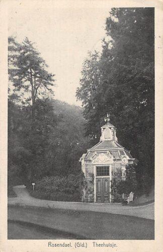 Ansichtkaart Rozendaal Rosendael Theehuisje Velp 1927 HC23351