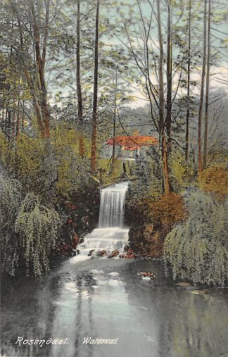 Ansichtkaart Rozendaal (GD) Rosendael Waterval 1925 HC23352