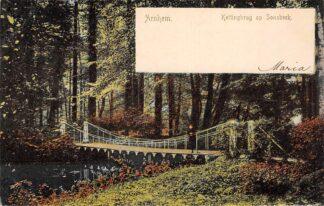 Ansichtkaart Arnhem Kettingbrug op Sonsbeek 1900 HC23359