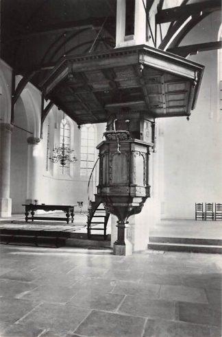 Ansichtkaart Oudewater Ned. Hervormde Kerk Interieur Preekstoel HC23387