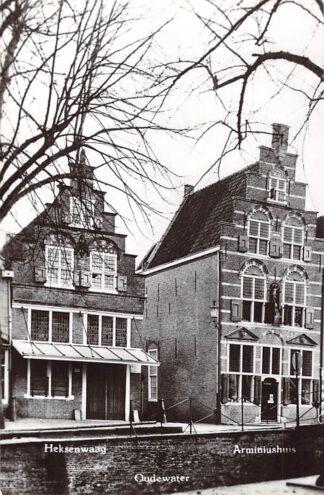 Ansichtkaart Oudewater Heksenwaag en Arminiushuis 1966 HC23391