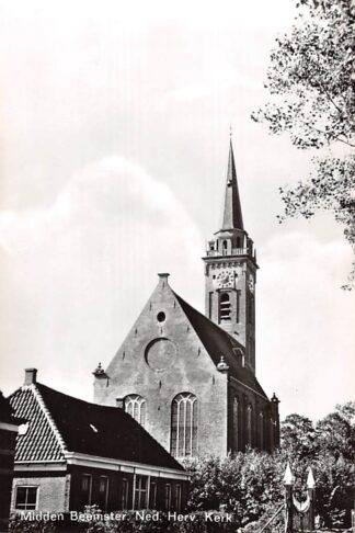 Ansichtkaart Middenbeemster Beemster Ned. Hervormde Kerk 1967 HC23393