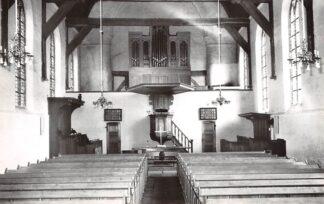 Ansichtkaart Renesse Ned. Hervormde Kerk 1965 Interieur Orgel HC23402