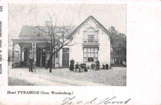Ansichtkaart Maarn Austerlitz Hotel Pyramide Woudenberg Zeist 1904 HC23424