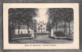 "Ansichtkaart Roermond Kasteel ""Hattem"" 1917 HC23425"