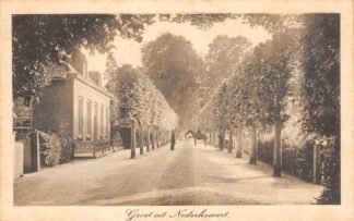 Ansichtkaart Nederhemert Groet uit 1915 Zaltbommel HC23428