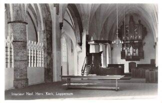 Ansichtkaart Loppersum Interieur Ned. Hervormde Kerk Orgel 1964 HC23484