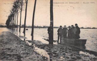 Ansichtkaart Zeeland Onbekend Watersnood Maart 1906 Tulp HC23496