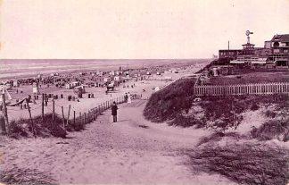 Ansichtkaart Zandvoort Duinen strand en zee 1906 HC23497