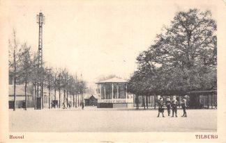 Ansichtkaart Tilburg Heuvel met Muziektent 1918 HC23534