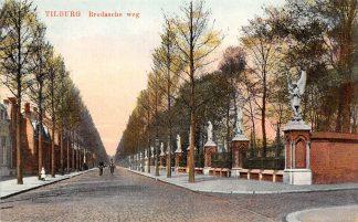 Ansichtkaart Tilburg Bredasche weg met begraafplaats 1917 HC23537