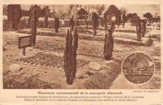 Ansichtkaart USA Queenstown Monument commemoratif de la sauvagerie Allemande Begraafplaats slachtoffers scheepsramp Lusitania 1915 Engeland Scheepvaart WO1 Noord-Amerika Europa HC23545